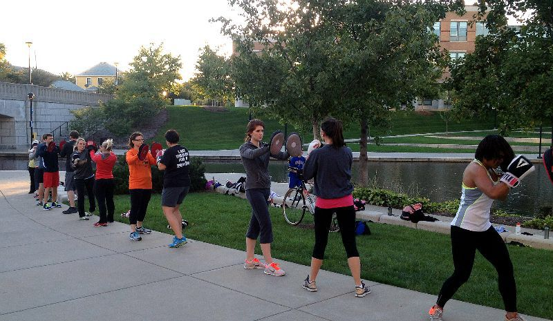 Downtown boot camp boxing boxing classes fitness class