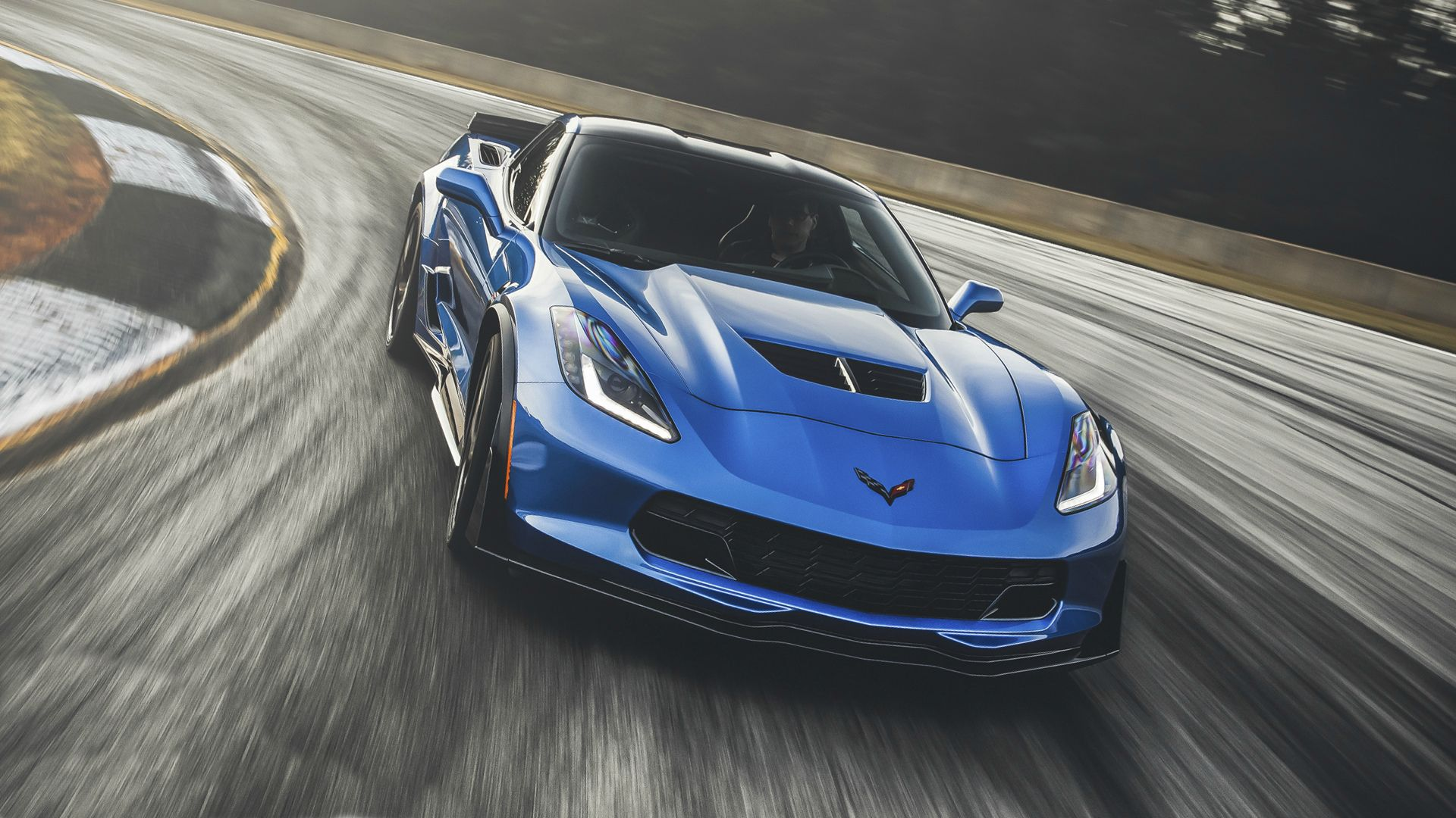 2019 Chevrolet Corvette Test Drive Road