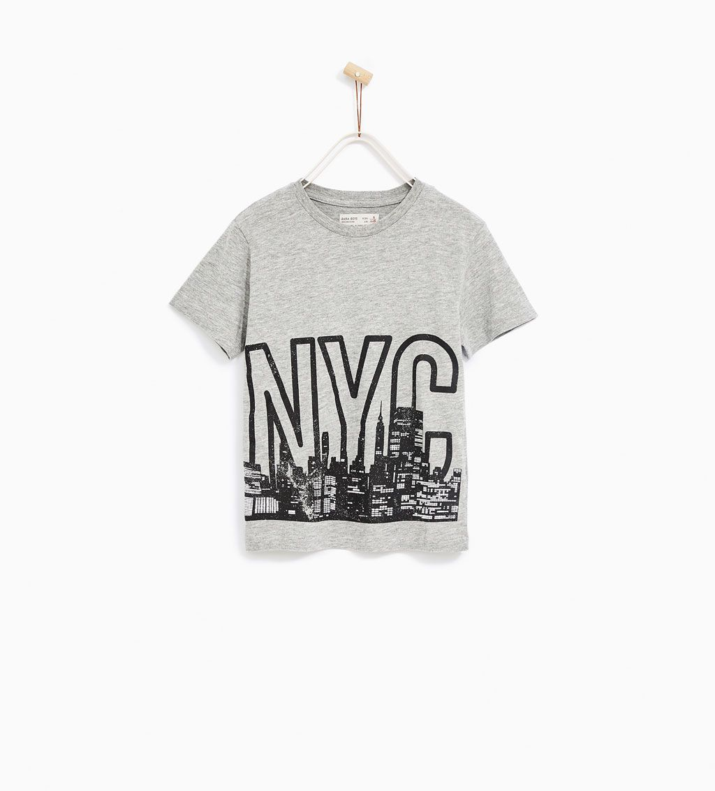 63d0a2cd3 NYC T-SHIRT-TOPS-SALE-BOY | 5 - 14 years-KIDS | ZARA United States ...
