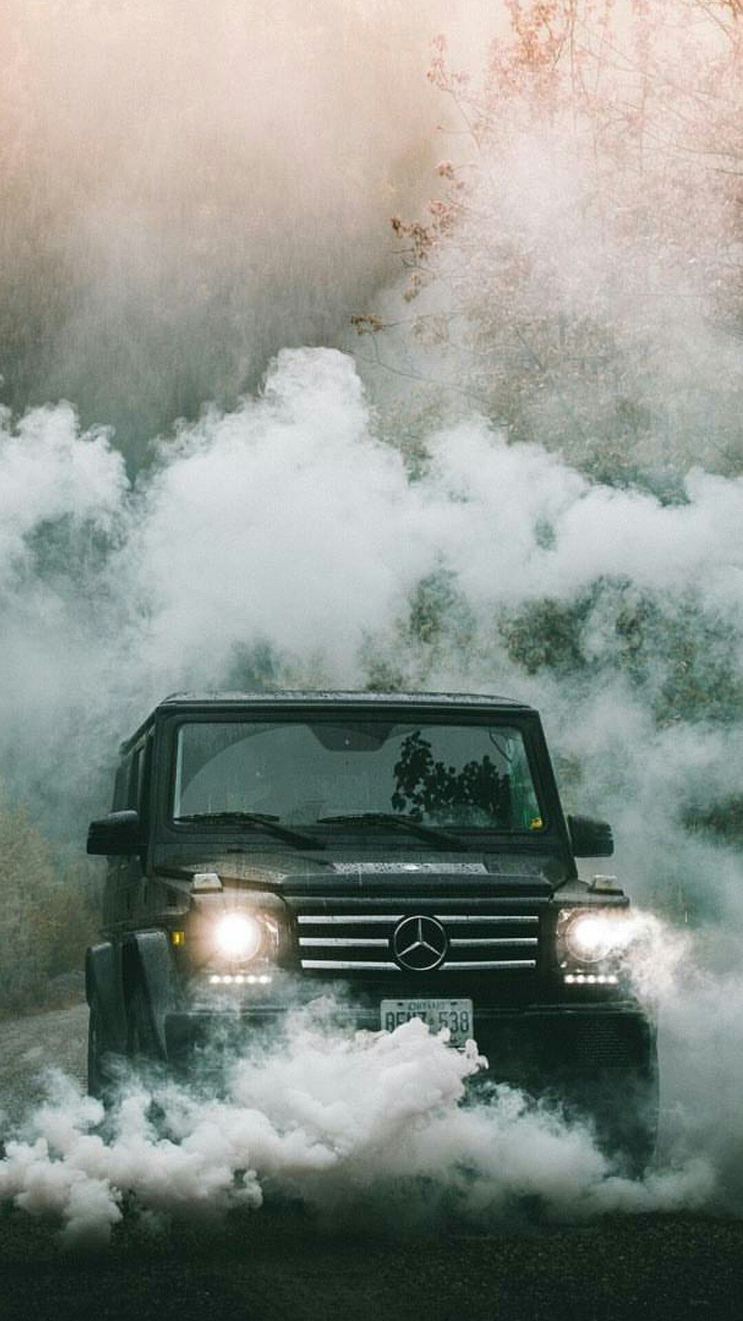 merc g63 smoke wallpaper tristar headlamps