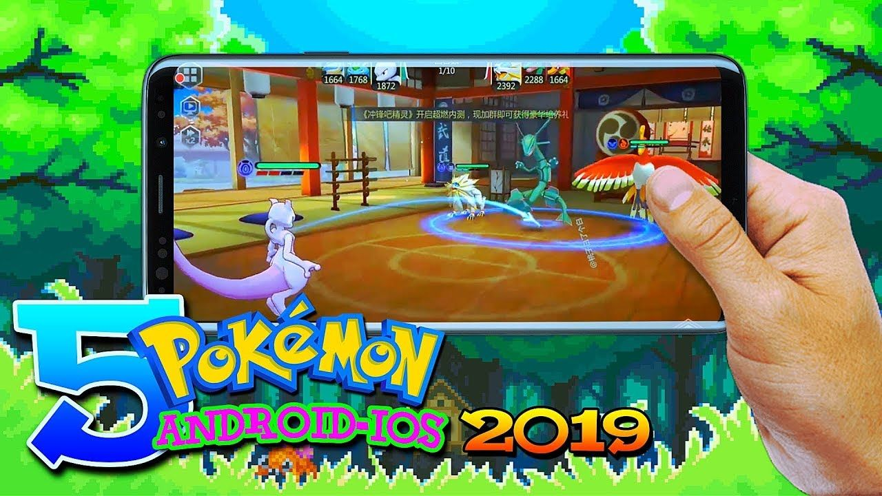 Top 5 New Pokémon Games in January 2019 (Android/IOS) in