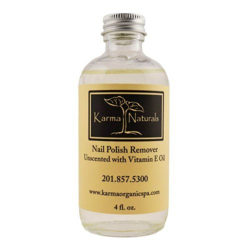 Organic Nail Polish Remover Unscented Karma Organic Spa http://www ...