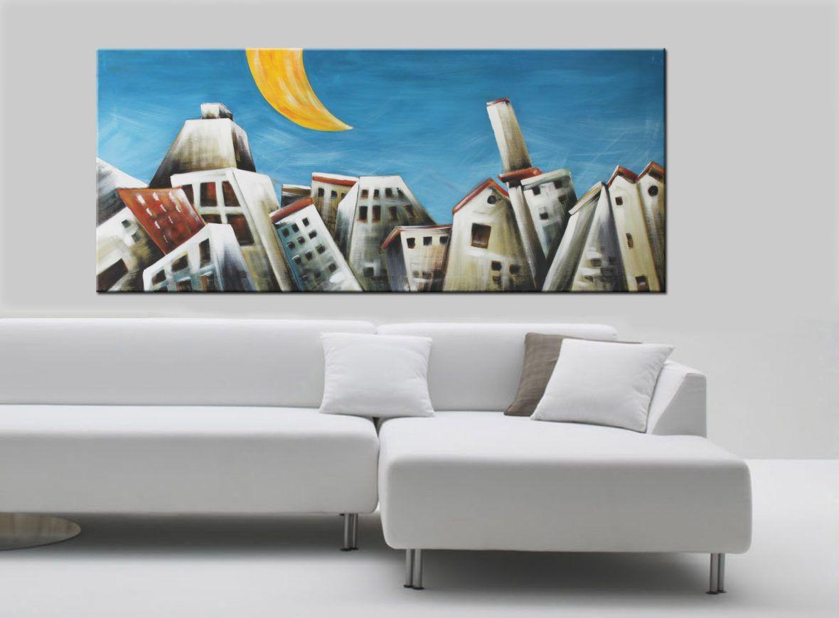 Quadri moderni dipinti a mano su tela innovativi e for Quadri particolari moderni