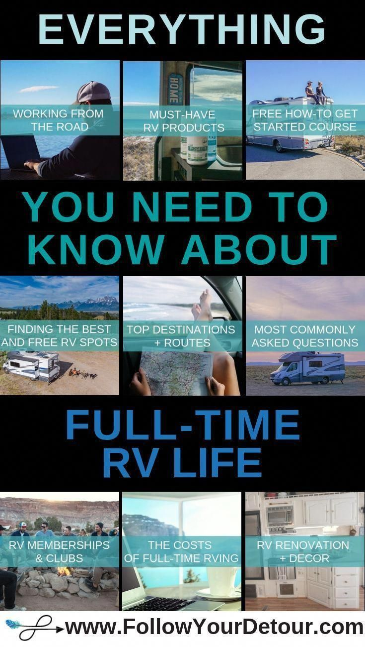 Photo of Full-Time RV Resources and Information – Follow Your Detour