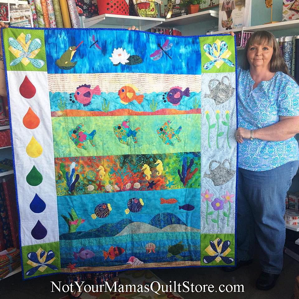 We have a winner! At Not Your Mama's Quilt Store, Sandie Griego ... : dallas quilt shops - Adamdwight.com