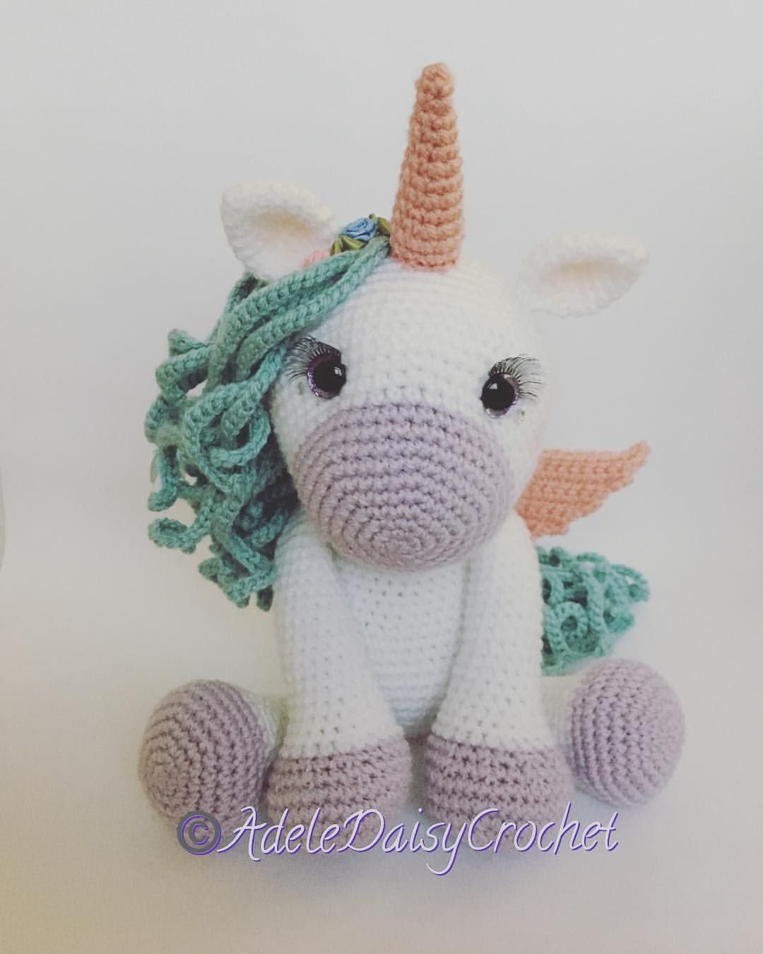 Unicorn Beanie--ready to ship and made to order