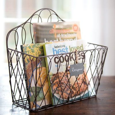 This is one of my absolute favorites!   You can finally have STYLISH organization on the counter or on the wall, with the divider or without!   LOVE this.  It's prop closet Tuesday today... you could win it Aug. 14th!
