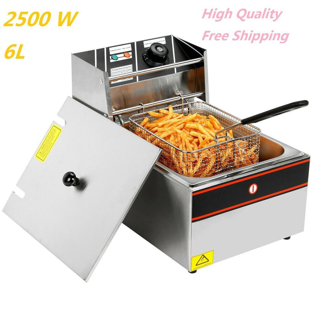 Ebay Sponsored 2500w First Class Electric Deep Fryer Pot