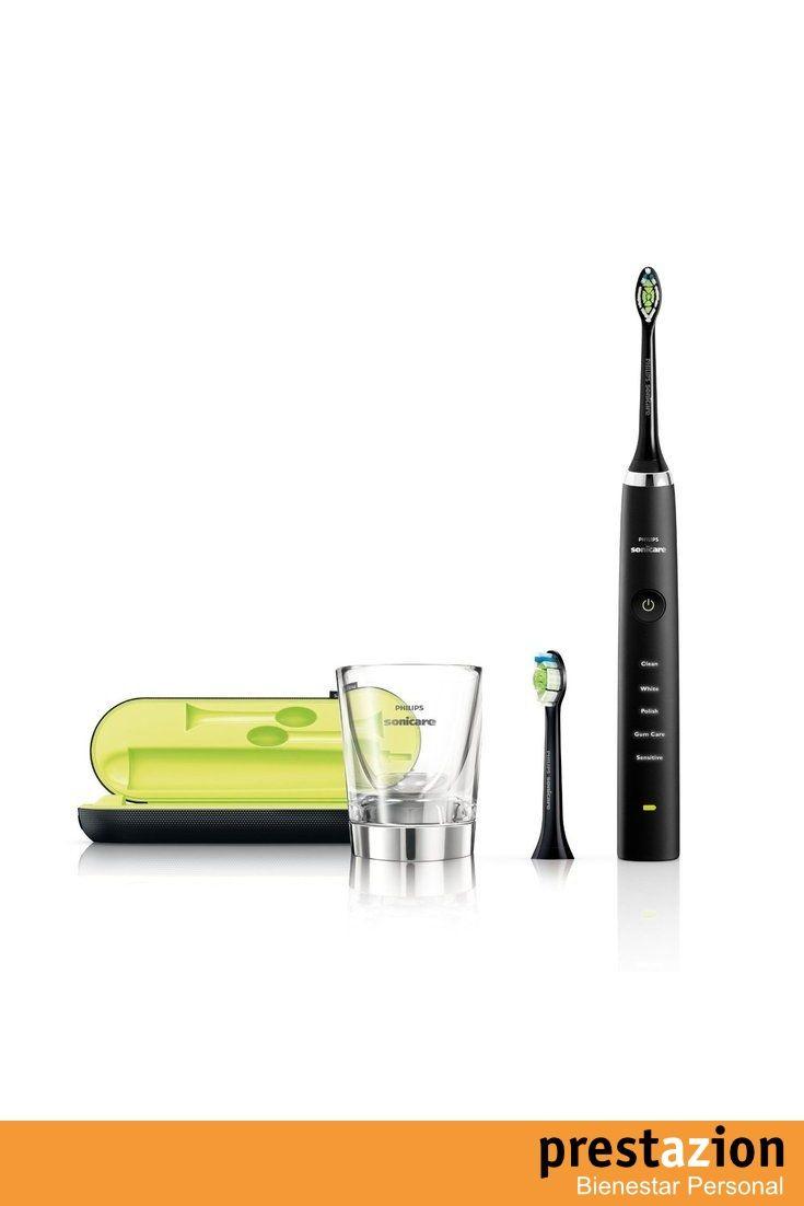 philips hx9352 04 cepillo de dientes electrico sonicare diamond clean con  cabezales de repuesto y estuche color negro 015ba3948dc0