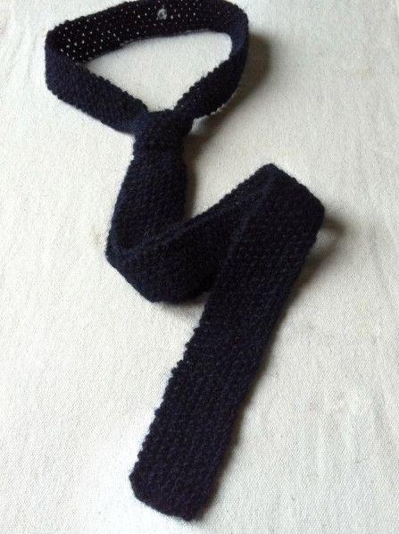 volume grand gamme de couleurs exceptionnelle vente en ligne Tricoter une cravate en laine | Cravate Tricot | Cravate ...