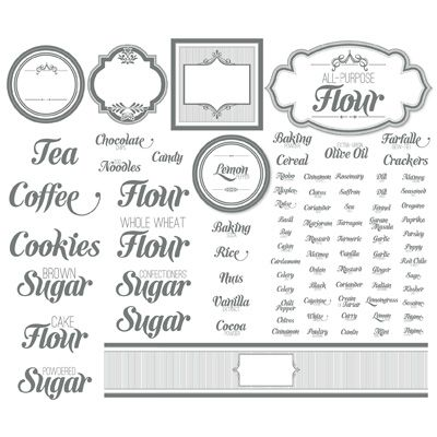 Label This Kitchen Designer Template - Digital Download 133022 - labels template free