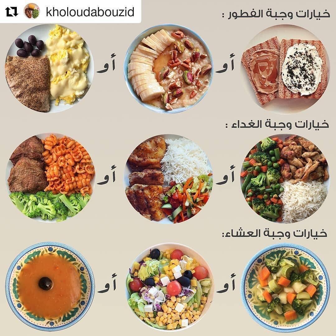 Healthy Life On Instagram Healthy Options For Meals Breakfast Lunch حياة صحية On Instagram Healthy Fitness Meals Health Facts Food Health Fitness Food