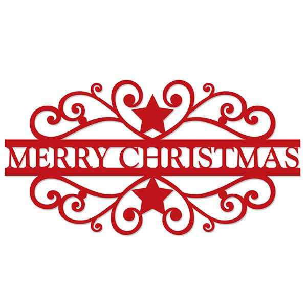 Download merry christmas title | Silhouette Designs | Pinterest ...