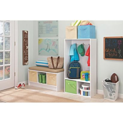 A Busy Family Doesnu0027t Have To Be A Messy One. Create An Entryway  Organization Station Using The ClosetMaid 3 Cube Bench And Storage Locker.