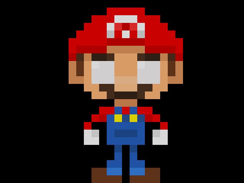 Famous Characters In Pixel Art Mario Characters Pixelart Supermario Mario Mariobros Videogames Pixel Pixel 16bit Savi Pixel Art Fun Illustration Art