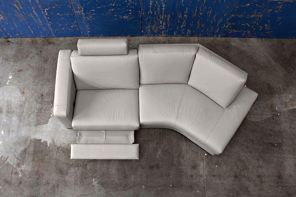 Divano Ad Angolo Piccolo : Dylan un divano che presenta auna soluzione per un divano ad