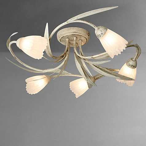 Buy john lewis larissa semi flush ceiling light 5 arm online at buy john lewis larissa semi flush ceiling light 5 arm online at johnlewis aloadofball Gallery