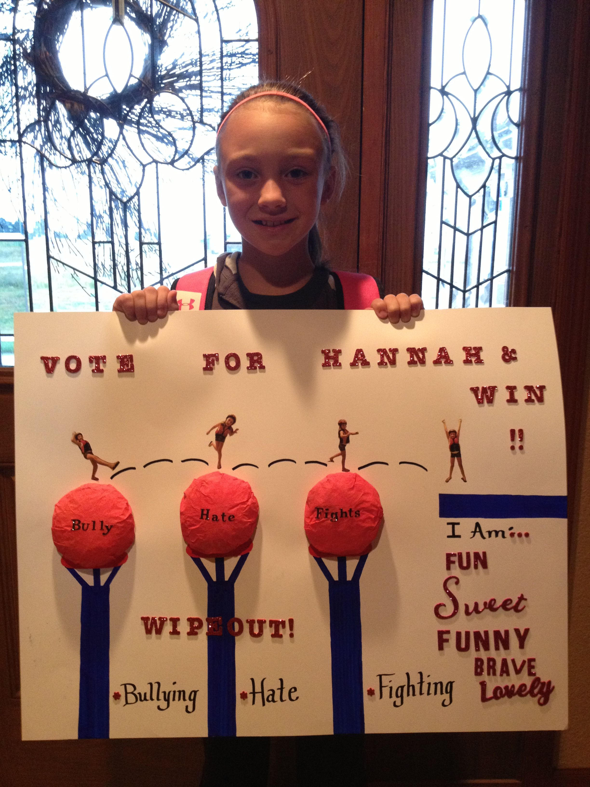 school house election posters | just b.CAUSE