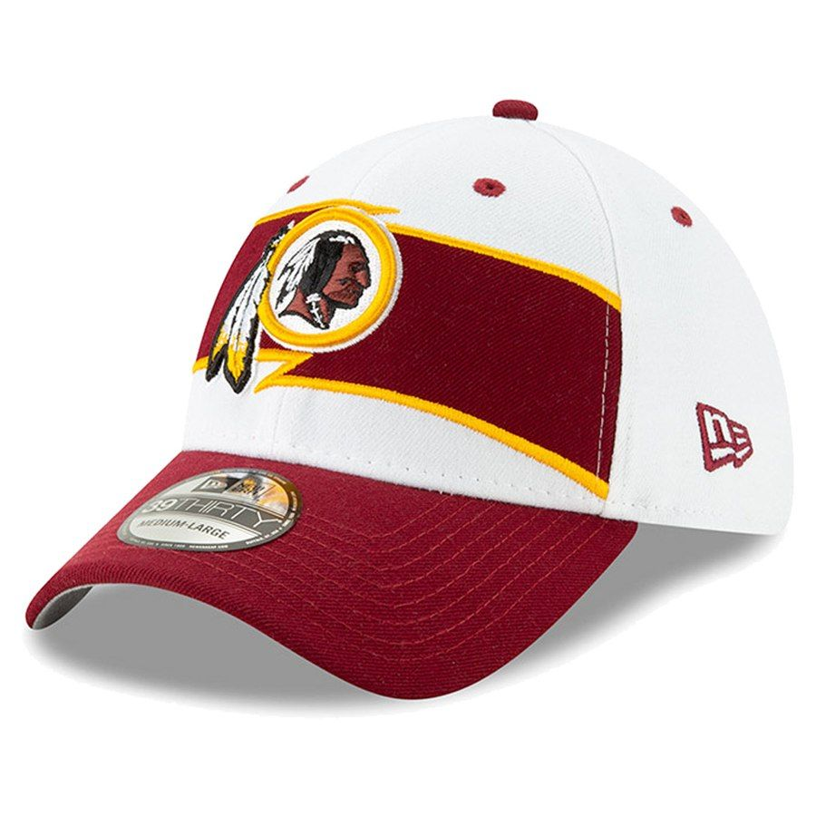 66ba09de1 Men's Washington Redskins New Era White/Burgundy Thanksgiving 39THIRTY Flex  Hat, Your Price: $31.99