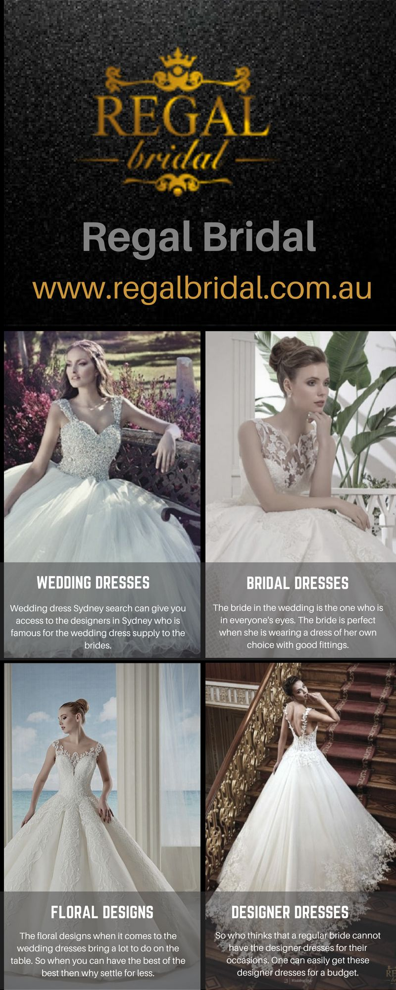 8543360659e3 Sometimes the wedding dresses of your dreams take time to find. Regal Bridal  has a wide range of wedding gowns, dresses, folar dresses, a collection of  ...
