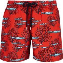 Badehose Coral Fish M/änner Badeshorts RXBRY