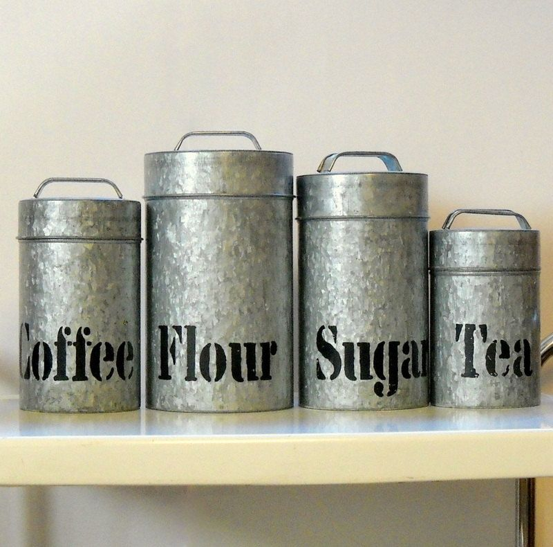 Image Result For Metal Canisters