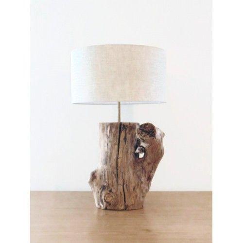 lampe bois flott magnifique pi ce unique pour maison d. Black Bedroom Furniture Sets. Home Design Ideas