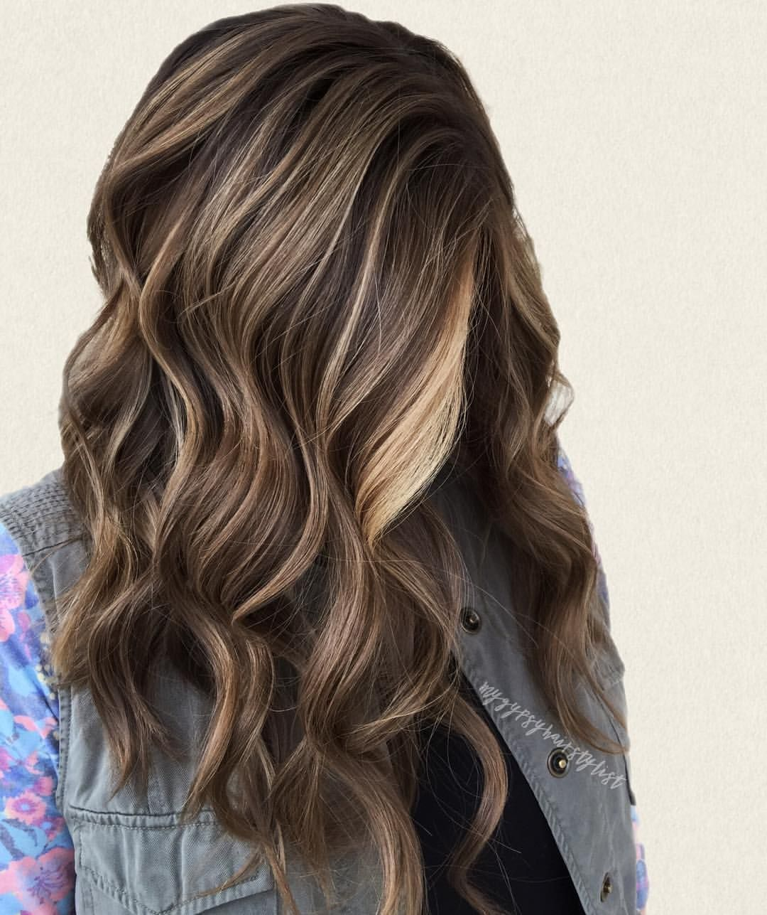 Pin By Sherry Bell On Hair Pinterest Balayage Brunette Beach
