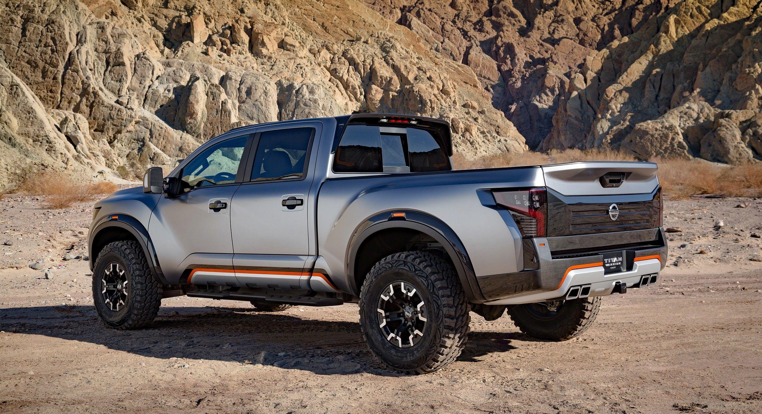 2017 Nissan Titan Warrior Concept US