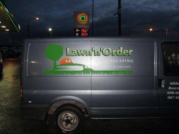 23 Company Names That Ll Make You Say I See What You Did There Company Names Landscaping Company Under Decks