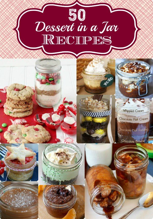 dessert in a jar recipes