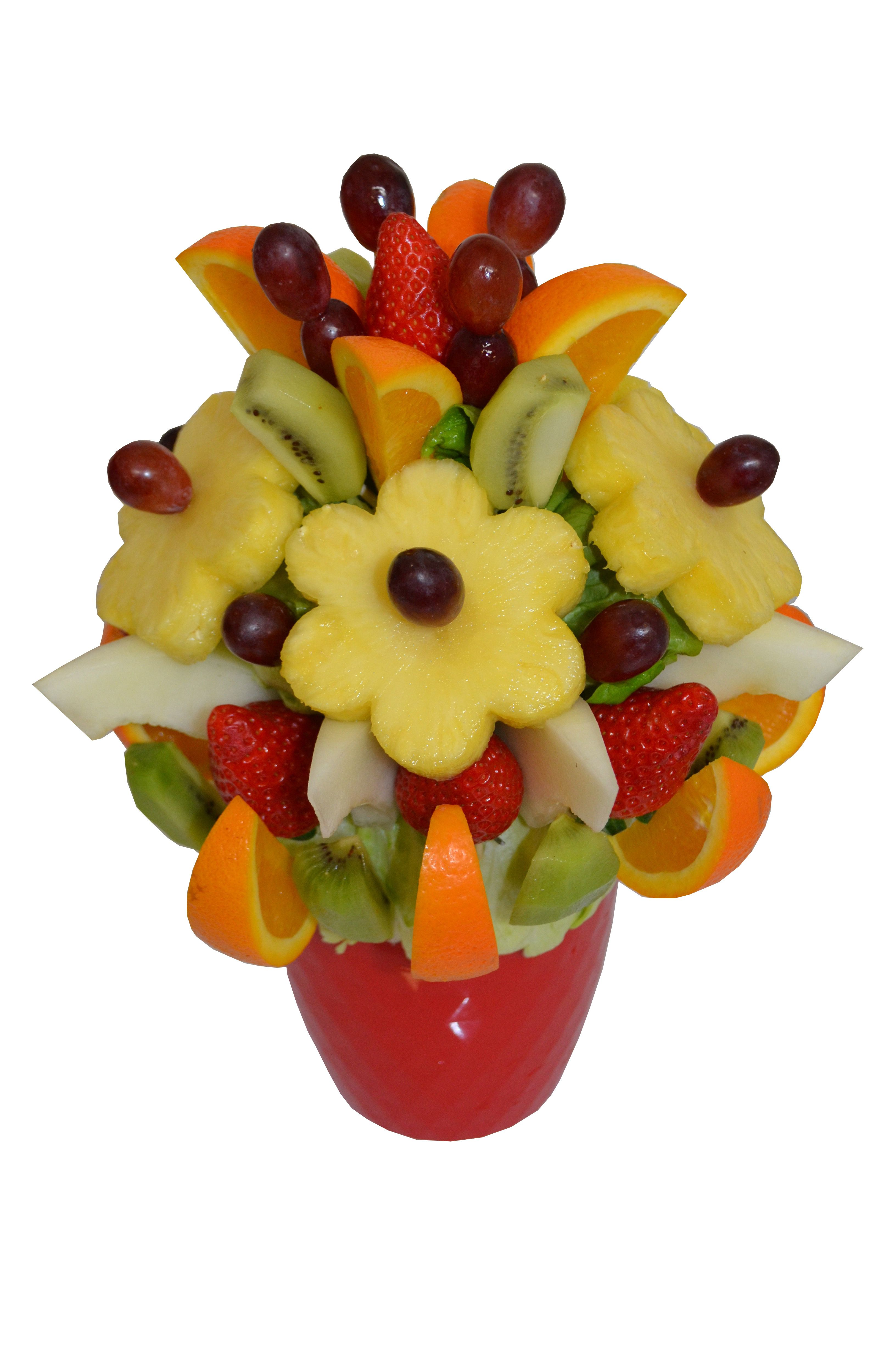 Fruit Posey A Lovely Bouquet Fill With Pineapple Flowers