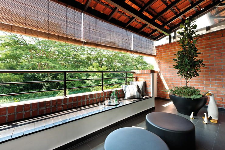 13 balcony designs that\'ll put you at ease instantly | Balconies ...