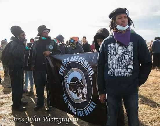 Black Panther Party Cubs Stand With Standing Rock Standing Rock Black Panther Party Black American