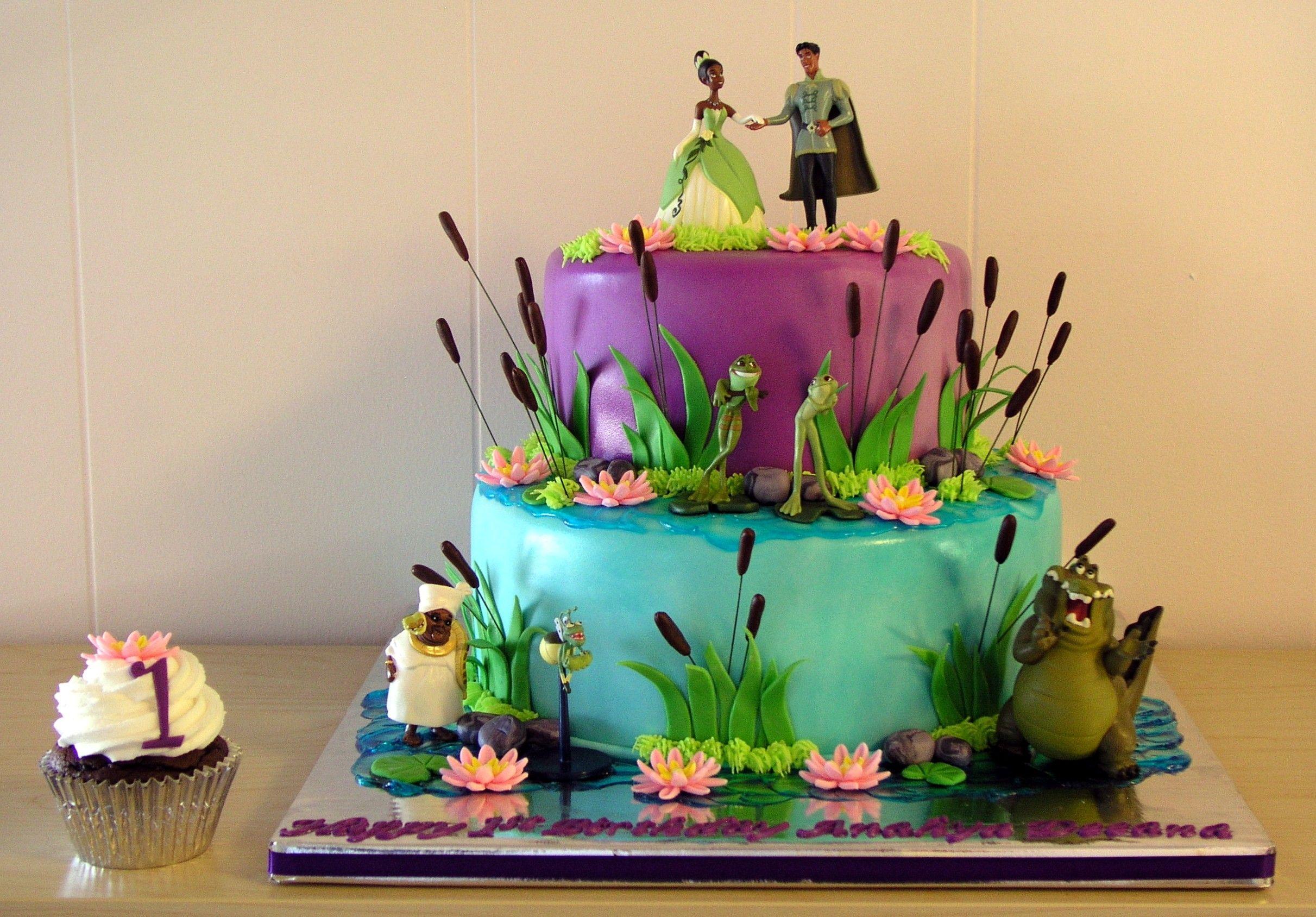 Princess Amp The Frog Cake Disney Princess Birthday Cakes