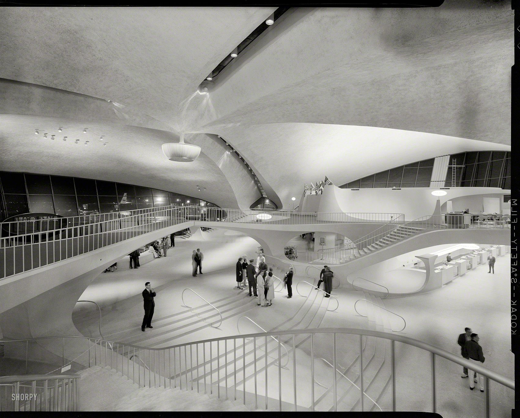 Queens New York 1964 Trans World Airlines Terminal John F
