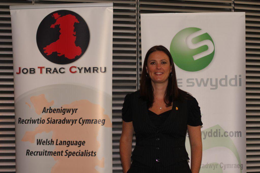 Tracey, Cyfarwyddwraig Job Trac Cymru & Safle Swyddi