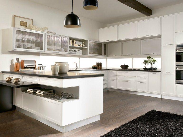 TIMELINE Kitchen with peninsula by Aster Cucine | 26/kitchen + ...