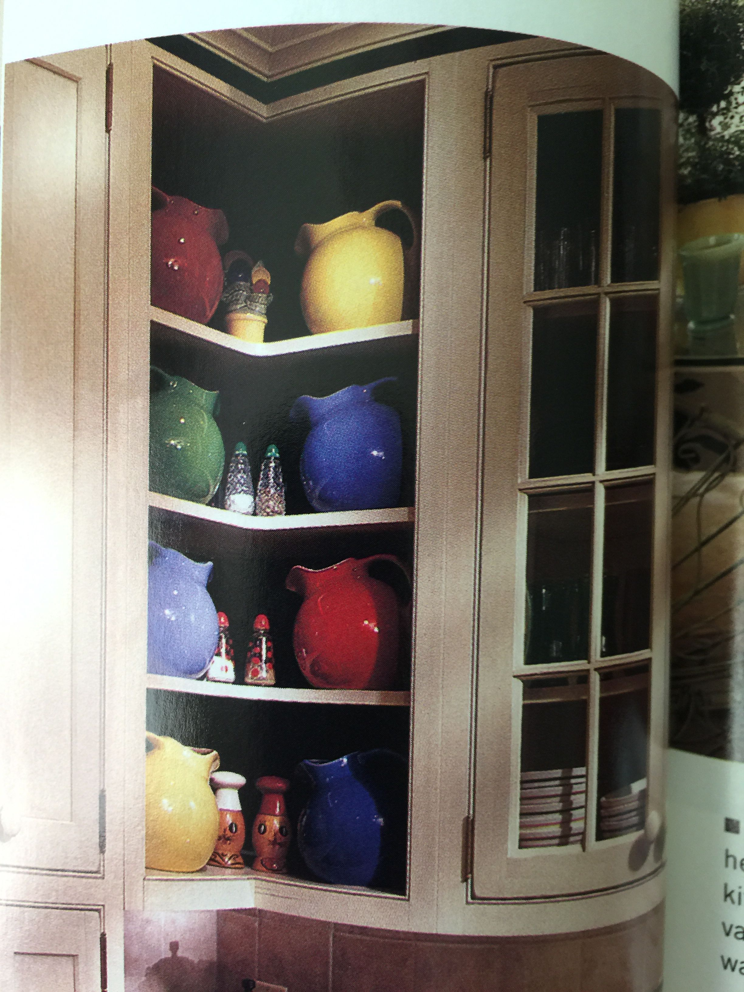 Angled Cabinets