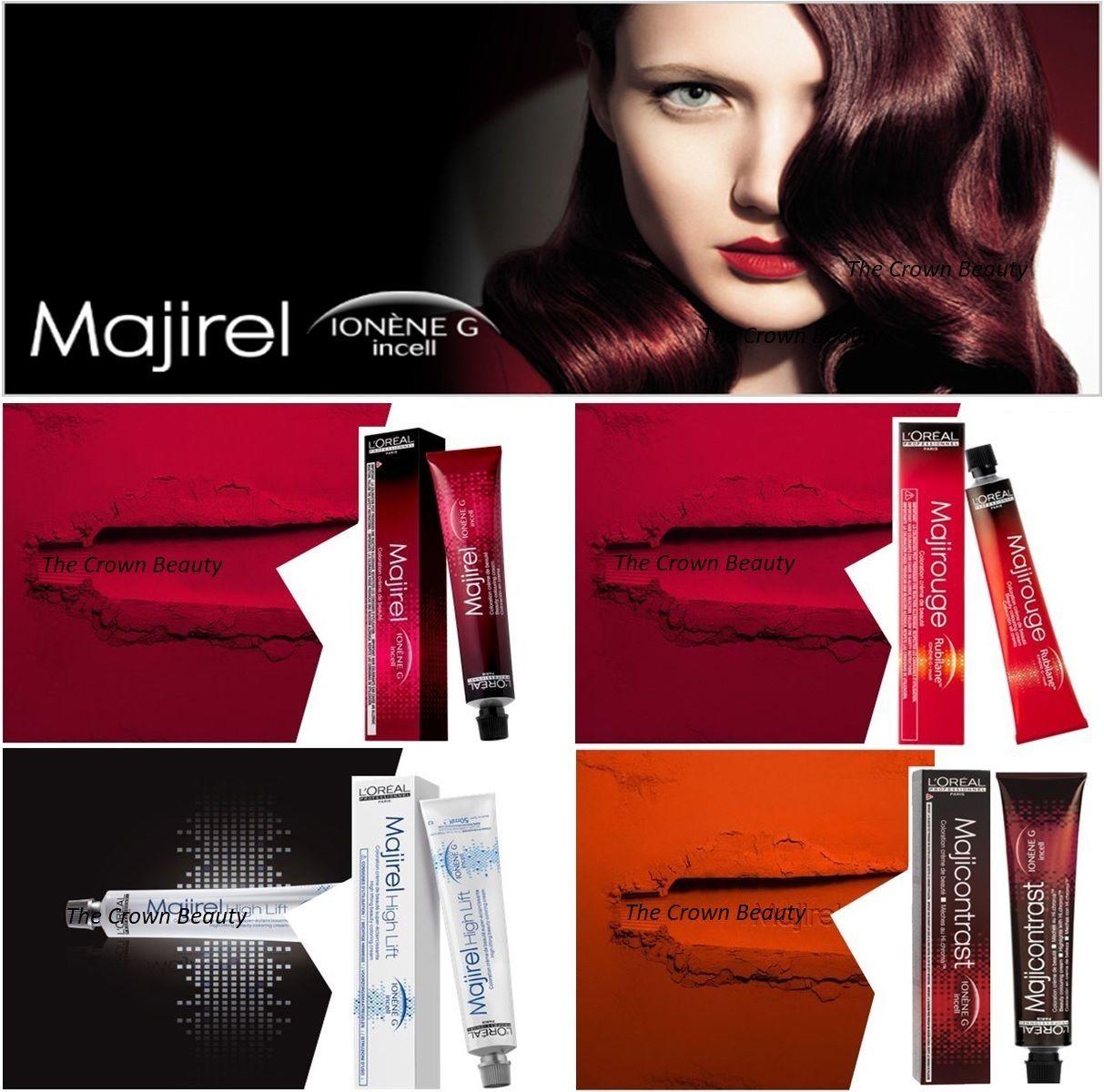 Loreal Majirel Majirouge Majicontrast High Lift Permanent