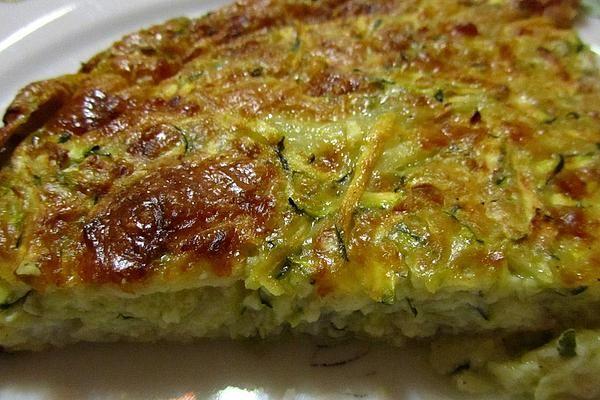 Zucchini - Käse - Kuchen von midajah | Chefkoch