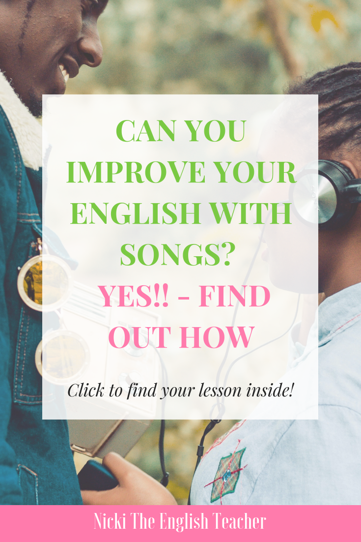 songs with advanced vocabulary