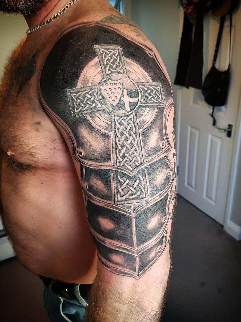 порево кельтская связка на плече с крестом фото всегда