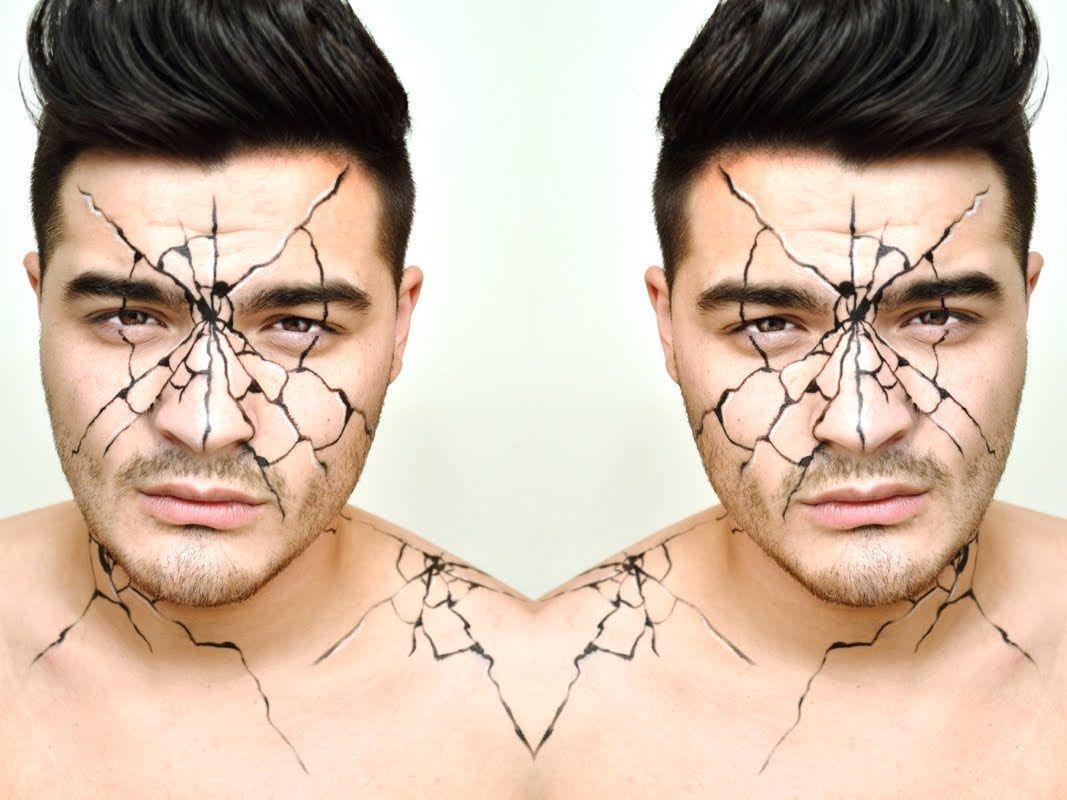 Cracked Face Makeup Tutorial Makeup Face Makeup Tutorial