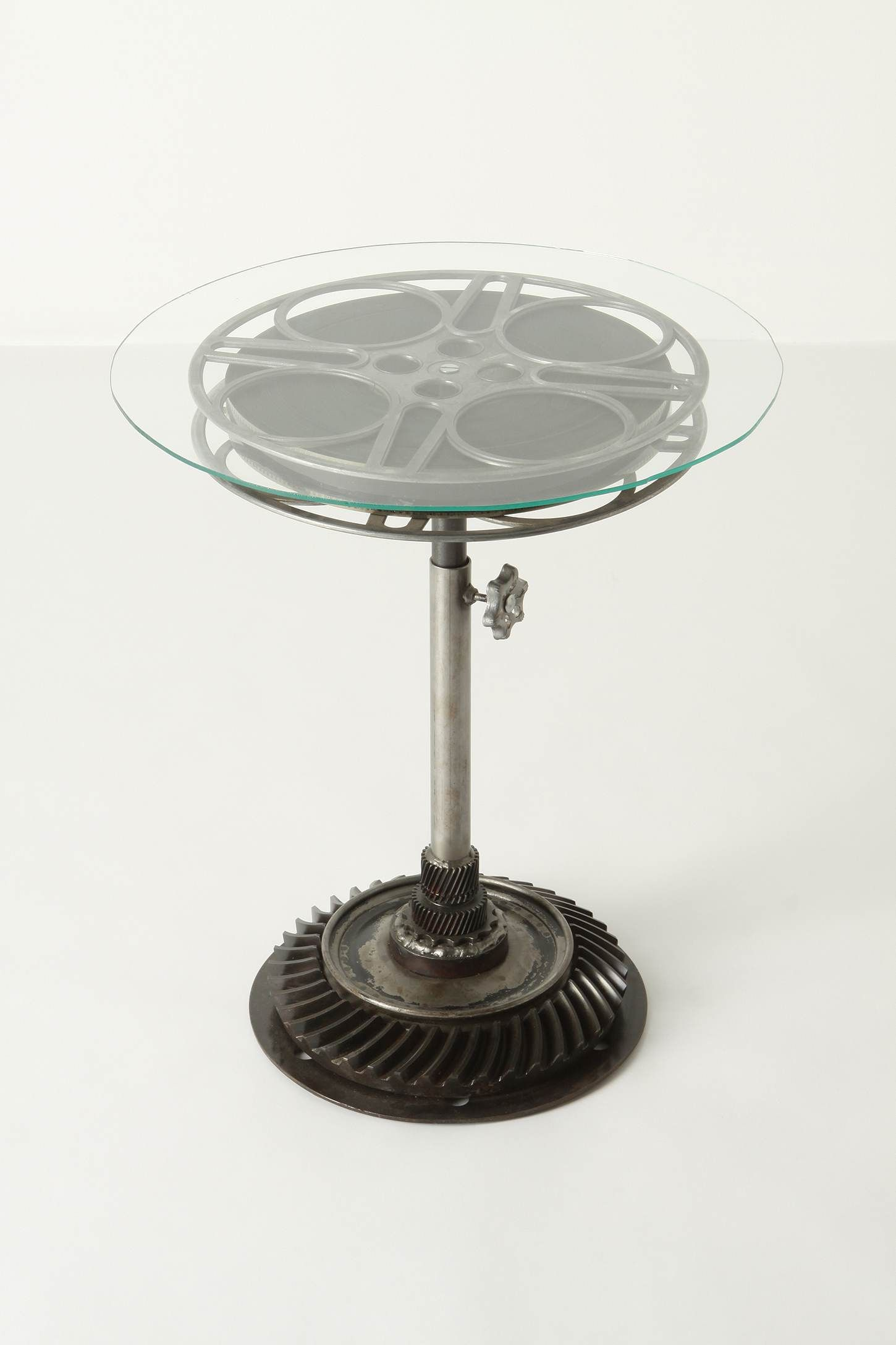 Genial Film Reel End Table $1,298.00 From Anthropologie. @Olivia Younan   Wish I  Could Get This For You!
