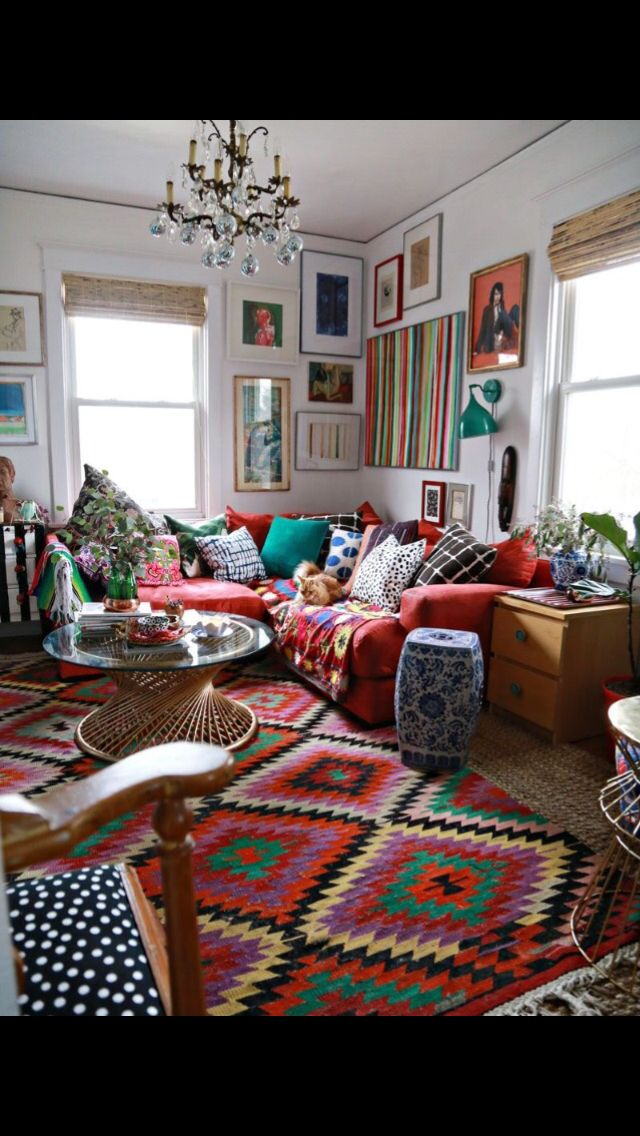 Eccentric (With images) | Bohemian living rooms, Boho ...