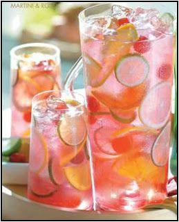 Raspberry Tequilla Sangria