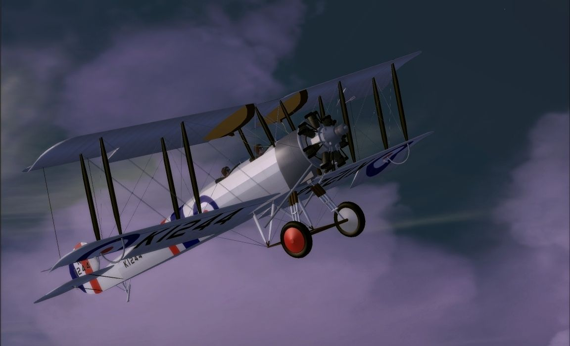 "Avro 504N ""Lynx"" Biplane"