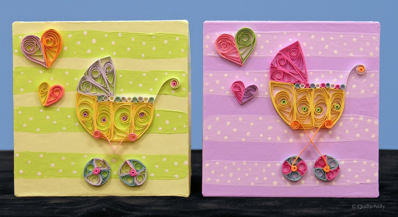 Quilly nilly oldies but goodies baby quilling pinterest