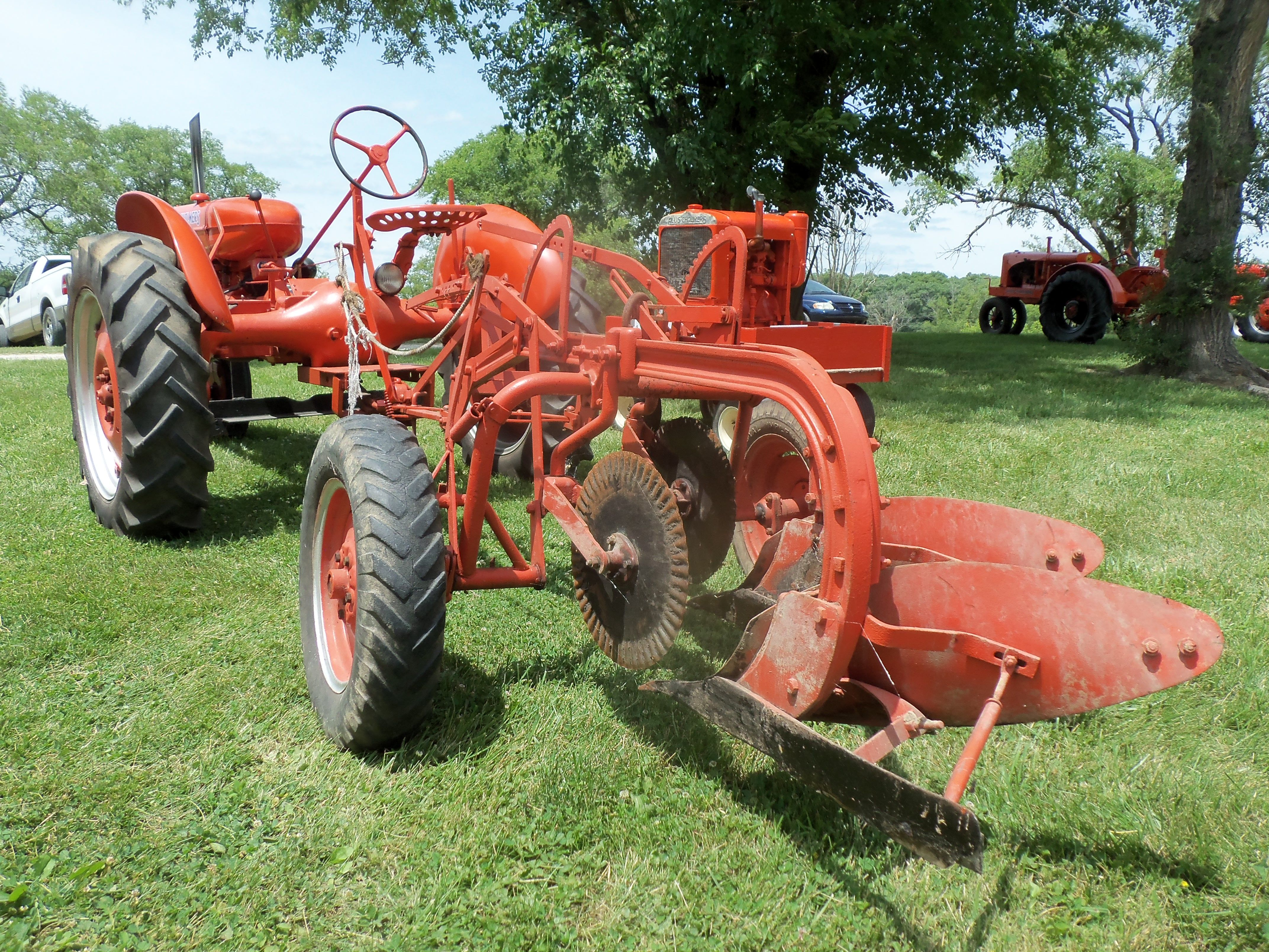1940 Allis Chalmers RC Tractor With 2 Bottom Plow